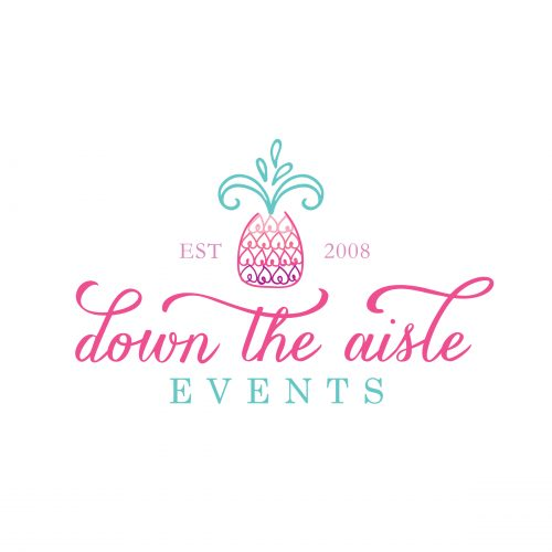 Down the Aisle Events Complete Branding
