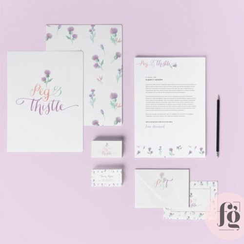 Featured Project: Peg & Thistle