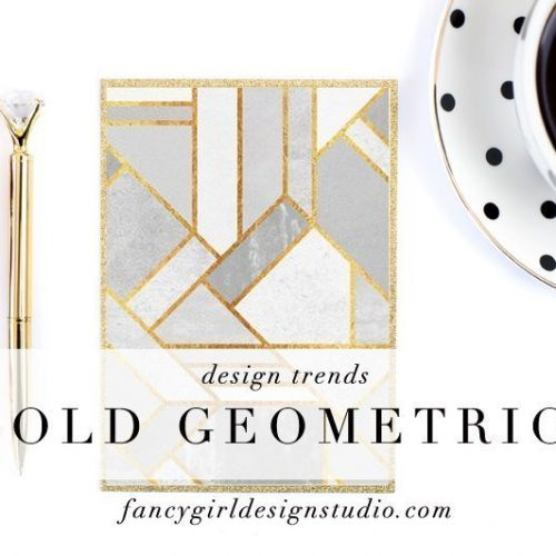 Design Trend: Gold Geometric