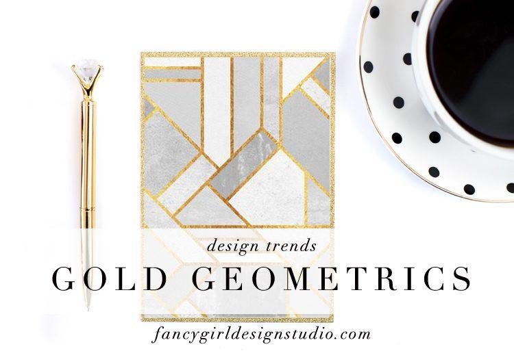 Design Trend: Gold Geometric