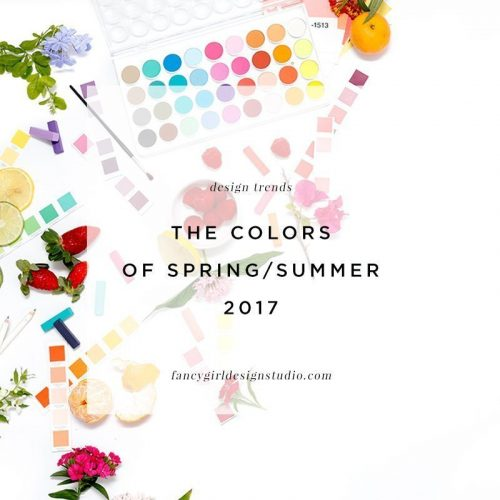 Pantone's 2017 Color Trend Report