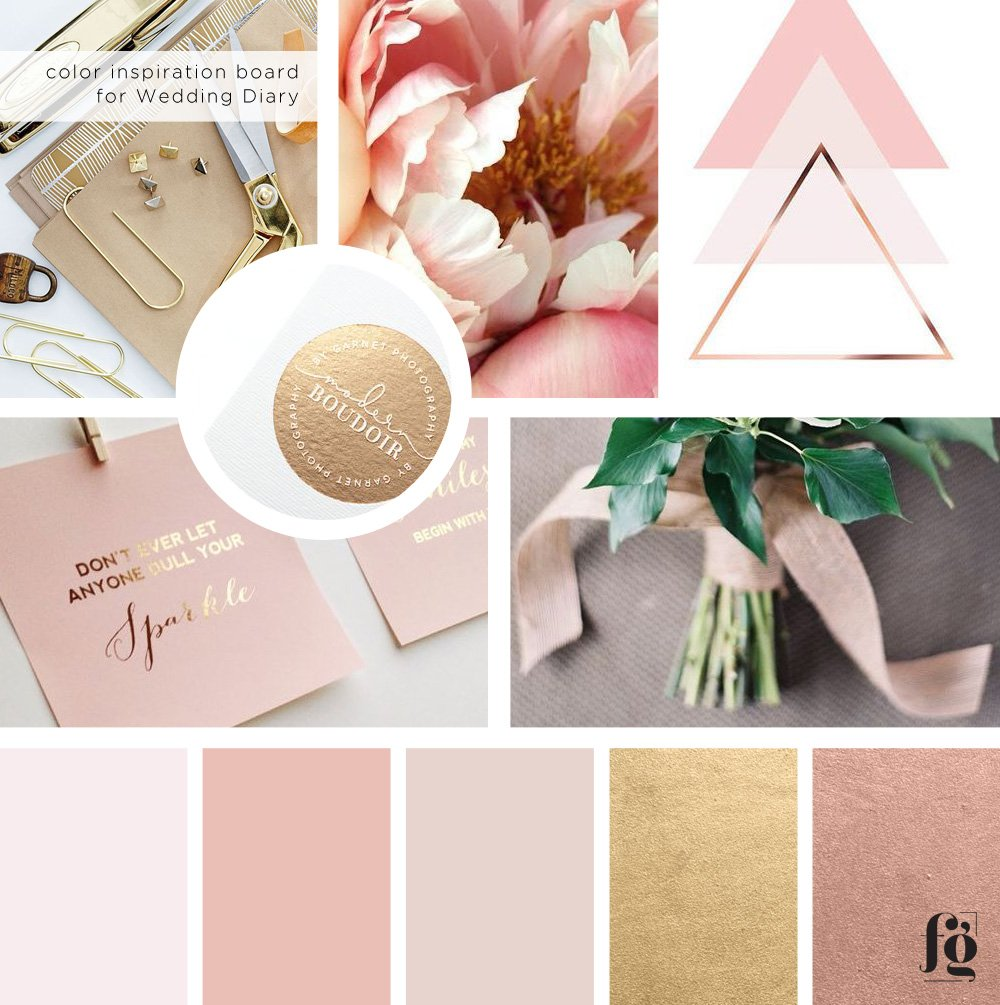 color-board-for-wedding-diary
