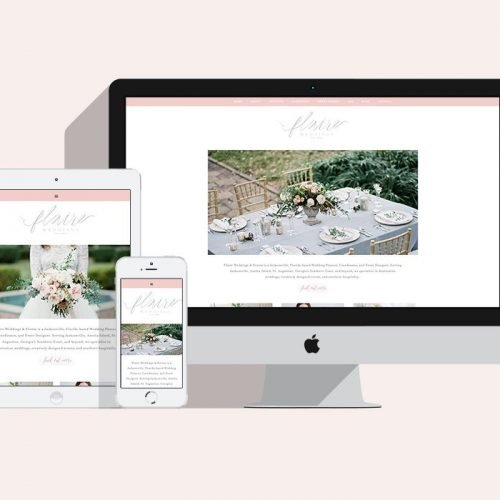 Featured Project: Flaire Weddings