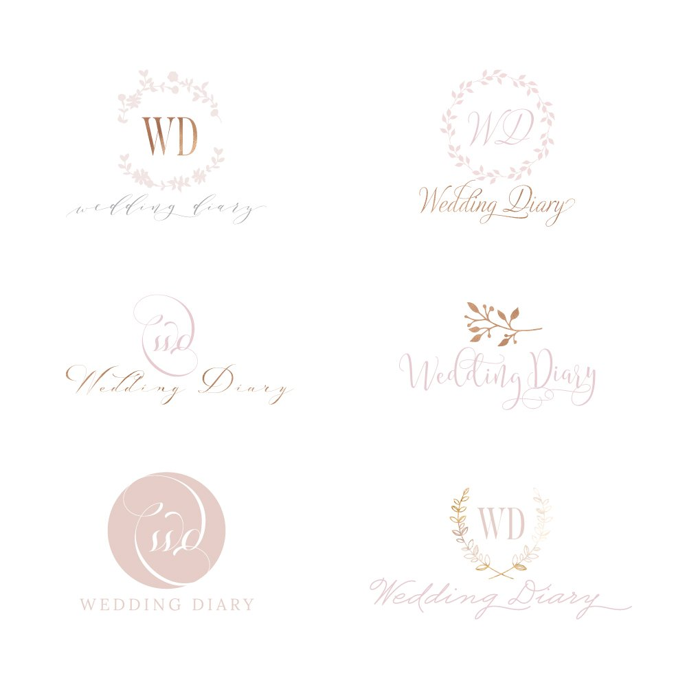 wedding-diary-logo-concepts