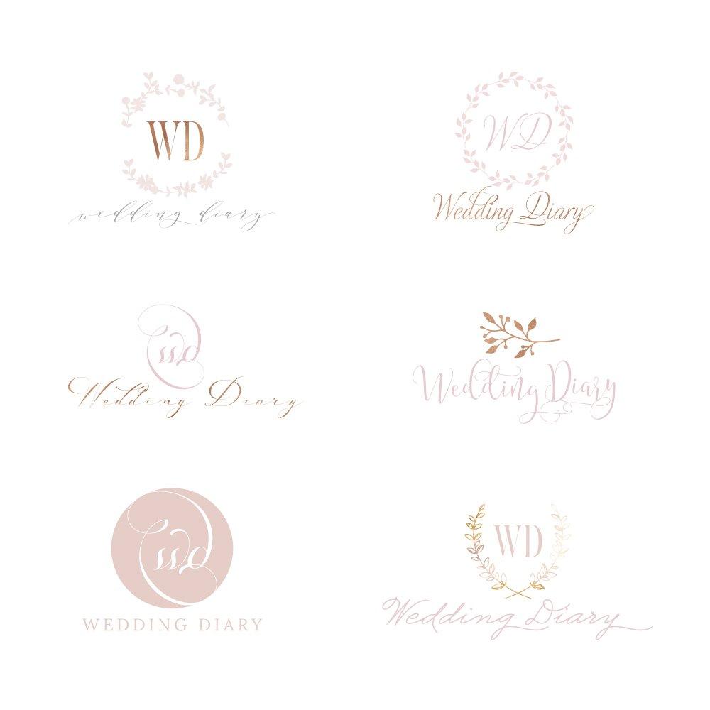 wedding-diary-logo-concepts
