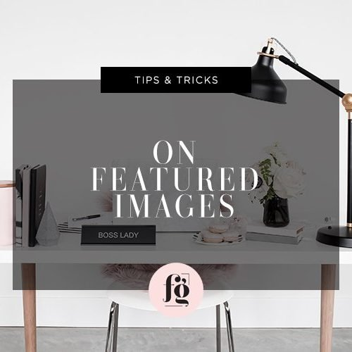 Making the Most of Featured Images