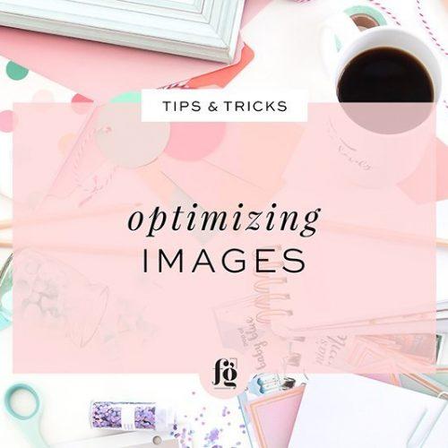 Optimizing Images for Web Use