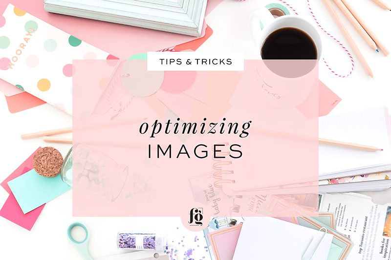 Optimizing Images for Web Use
