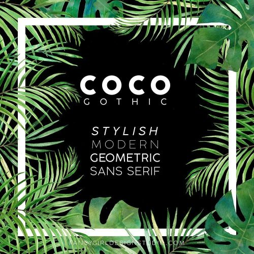 New Font Crush: Coco Gothic