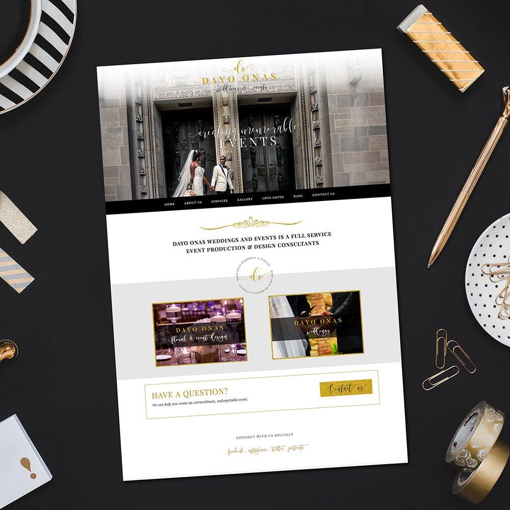 Dayo Onas Website Design