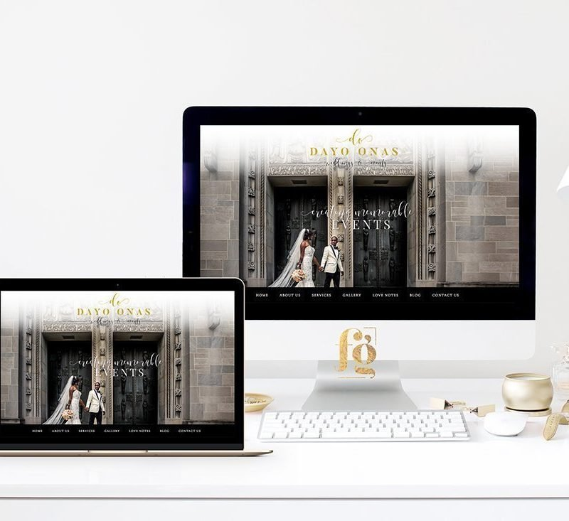 Featured Project: Dayo Onas Weddings & Events