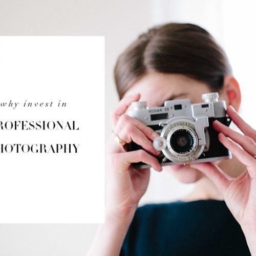 Why Invest in Professional Photography
