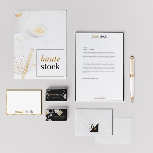 Featured Project: Logo Design for Haute Stock