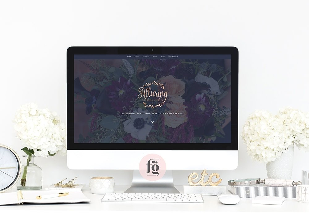 Featured Project: Alluring Weddings & Events