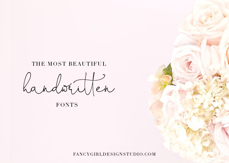 The most beautiful handwritten fonts (so far)