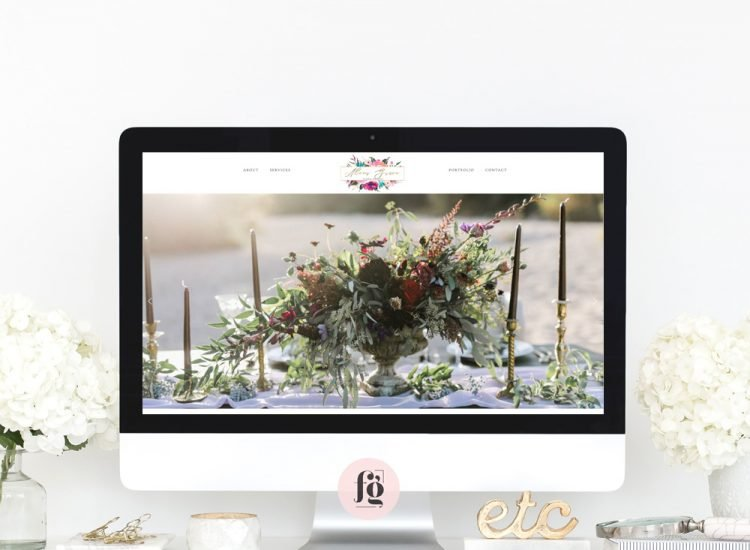 Featured Project: Alexis Grace Florals