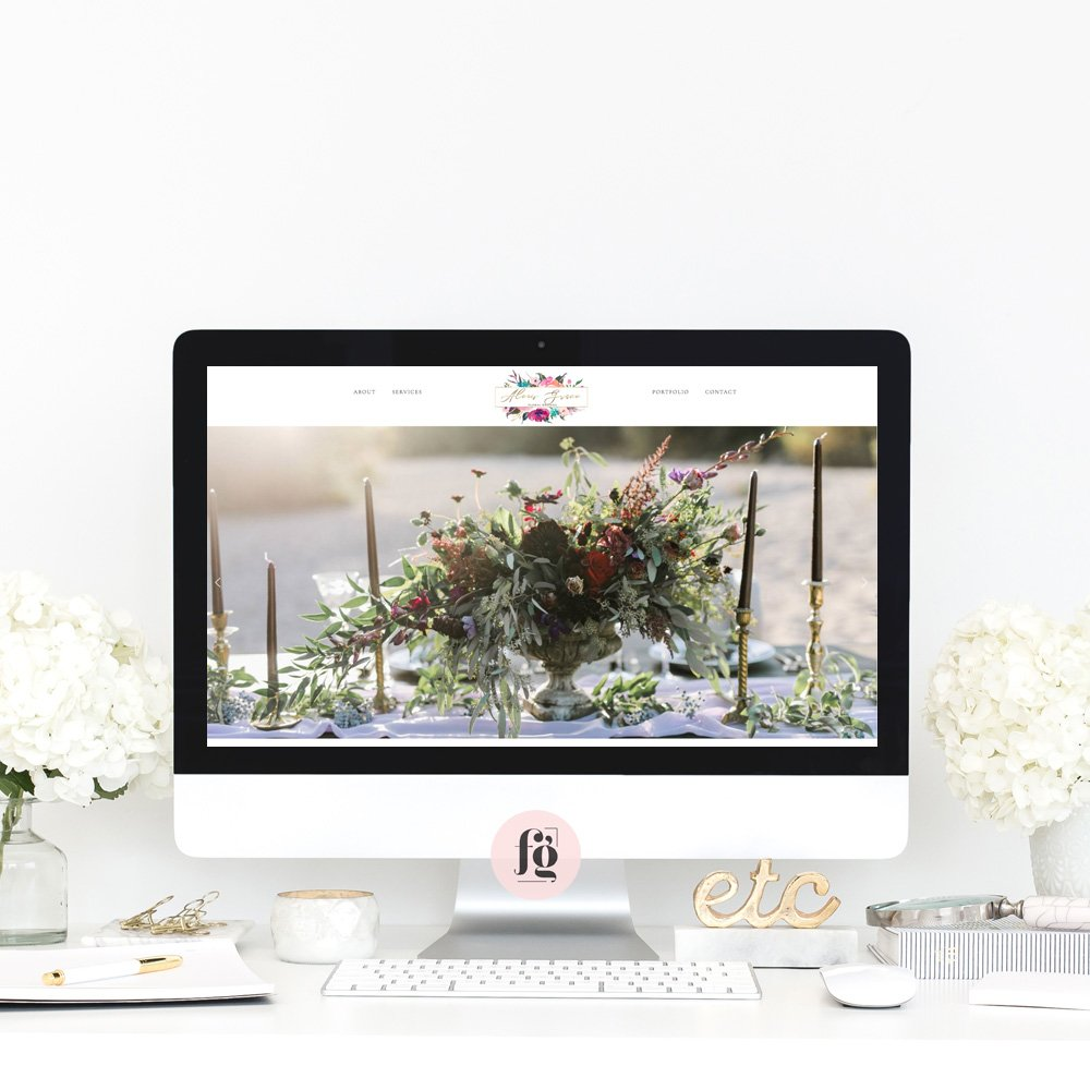 Featured Project: Alexis Grace Florals
