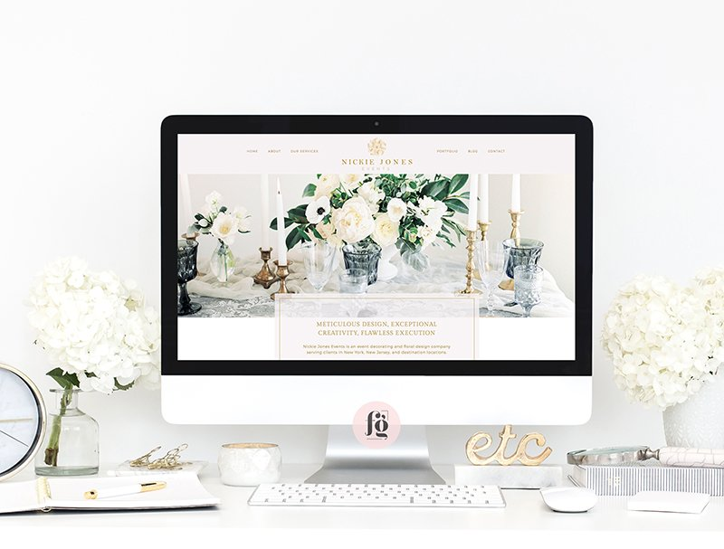 Featured Project: Nickie Jones Events