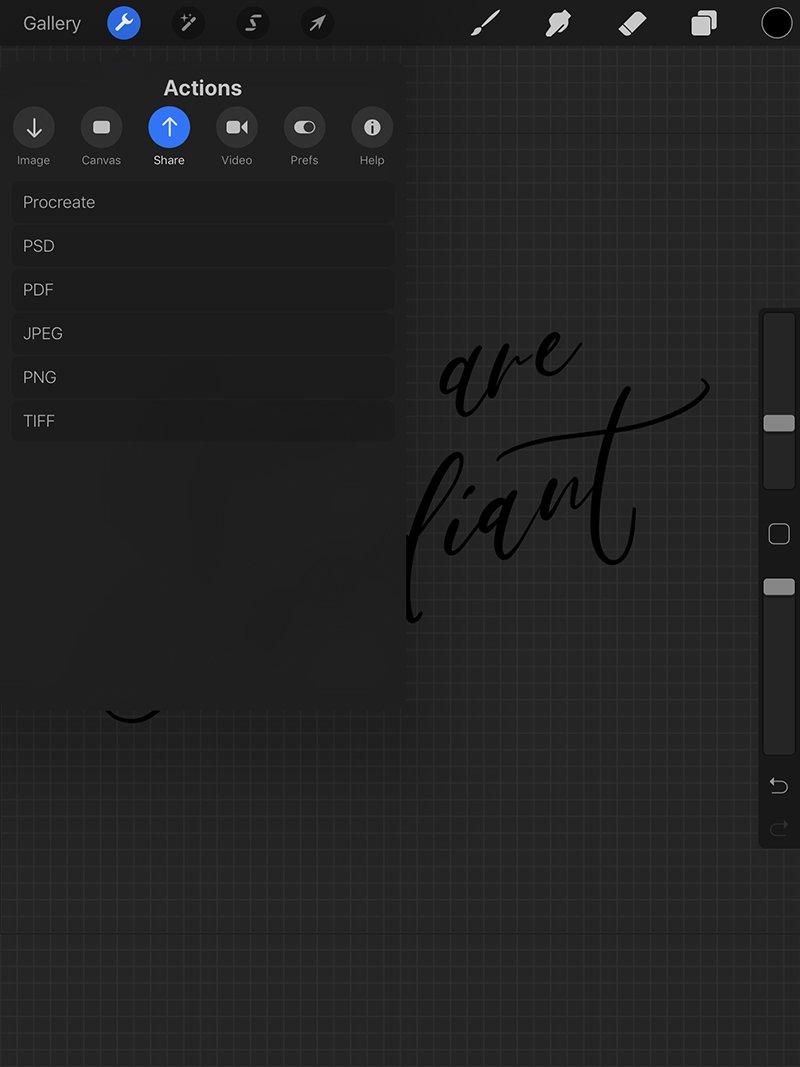 Vectorizing Calligraphy | Fancy Girl Designs