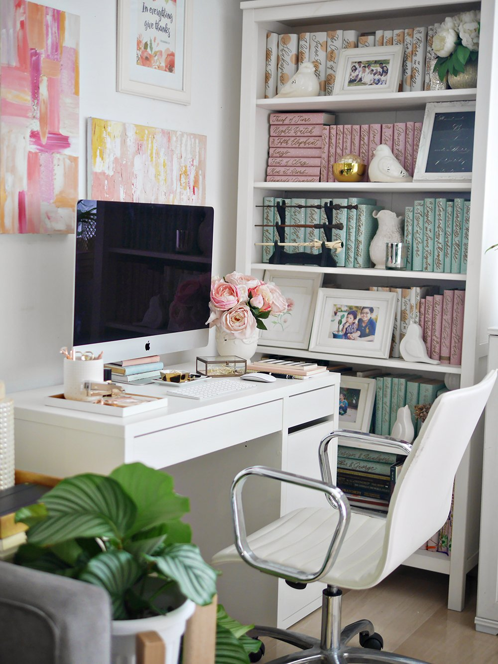 styled home office
