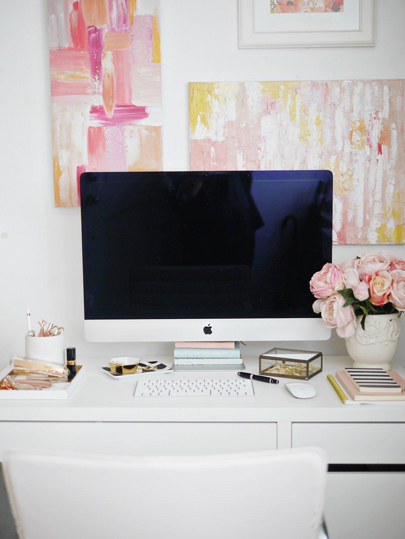 styled desktop workspace