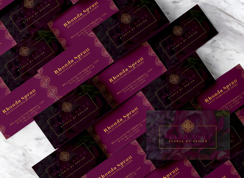 Bella Luve Business Card Design