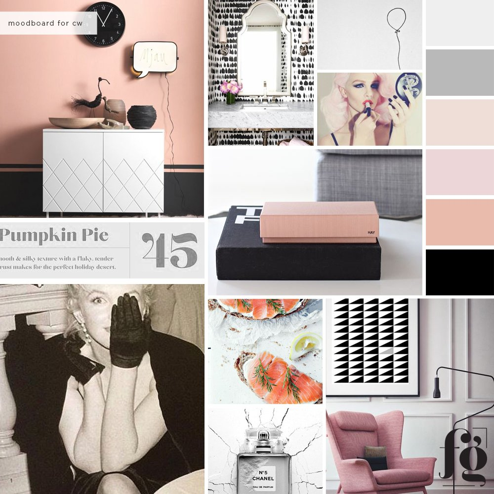 moodboard for christina wolfgram by fancy girl designs