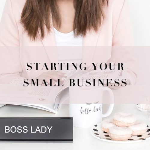 Tips for Starting Your Small Business