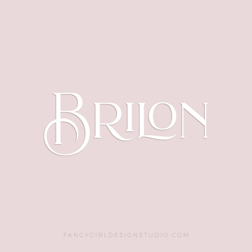Brilon font sample by Fancy Girl Designs