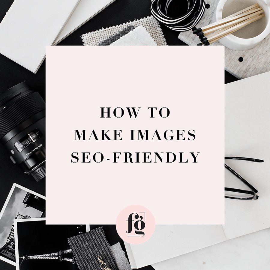 optimizing images for seo by fancy girl design studio