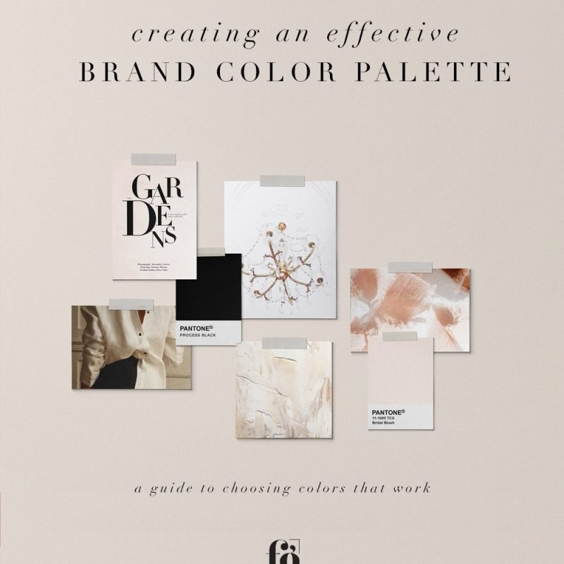 Creating an Effective Brand Color Palette