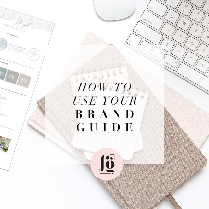 How to use your brand guide