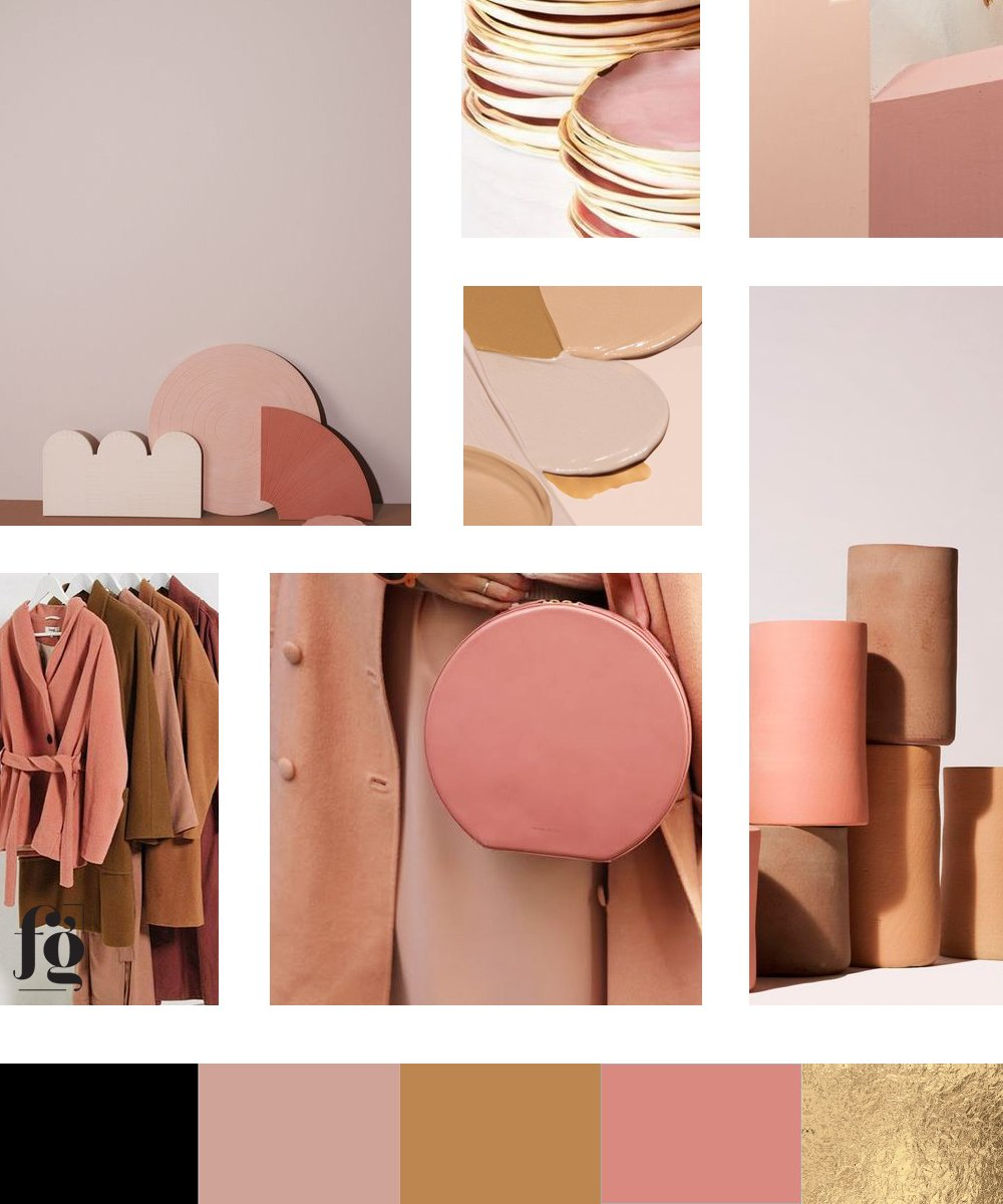 fancy girl design studio new warm color palette