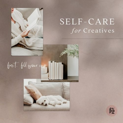 Self-care for creatives