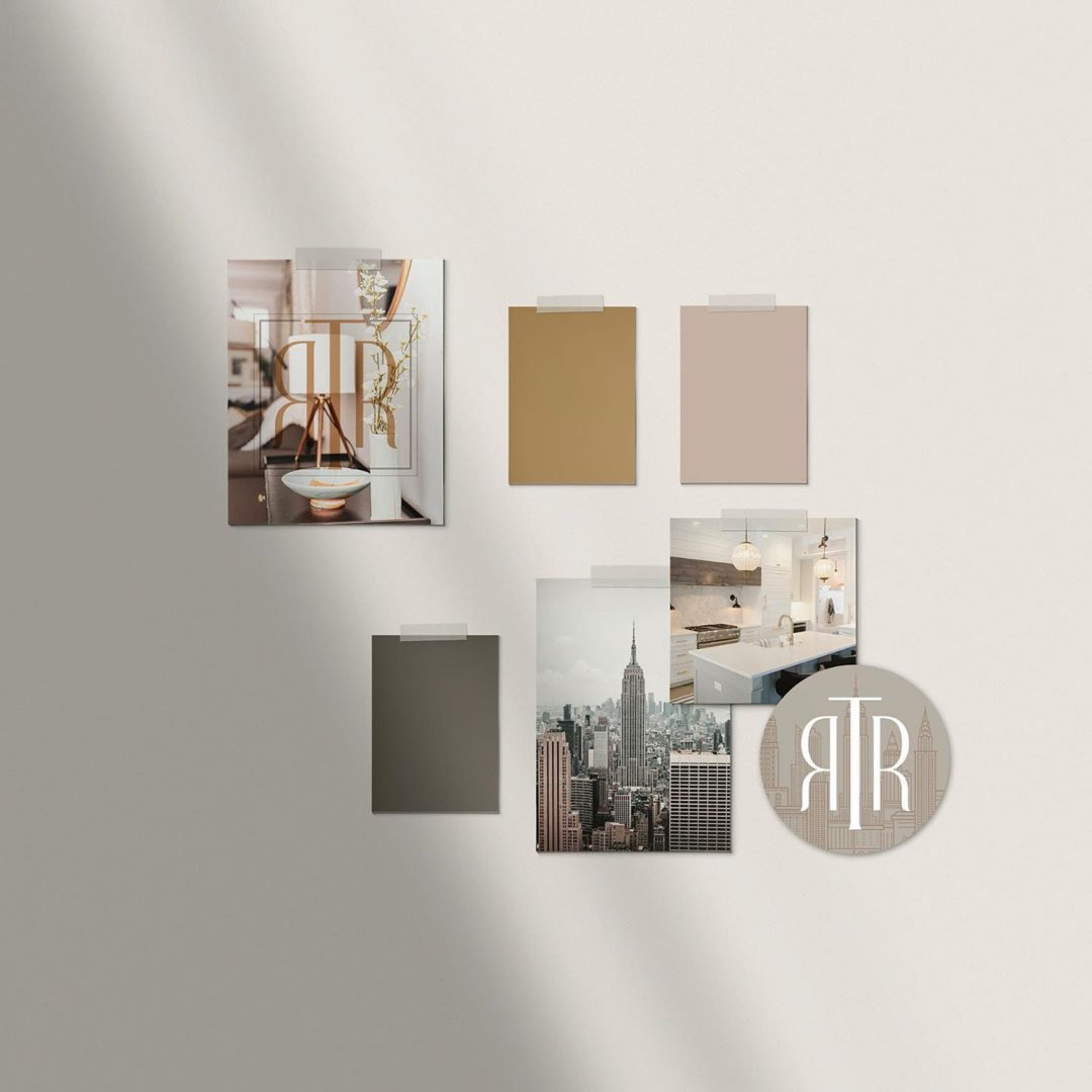 Timeless and elegant Logo design for Top Rated Realty by Fancy Girl Design Studio