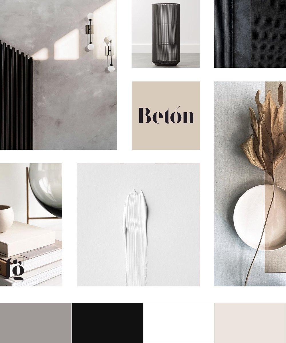 Moodboard and color palette for Hella Design Studio by Fancy Girl Design Studio. Timeless, modern neutrals.