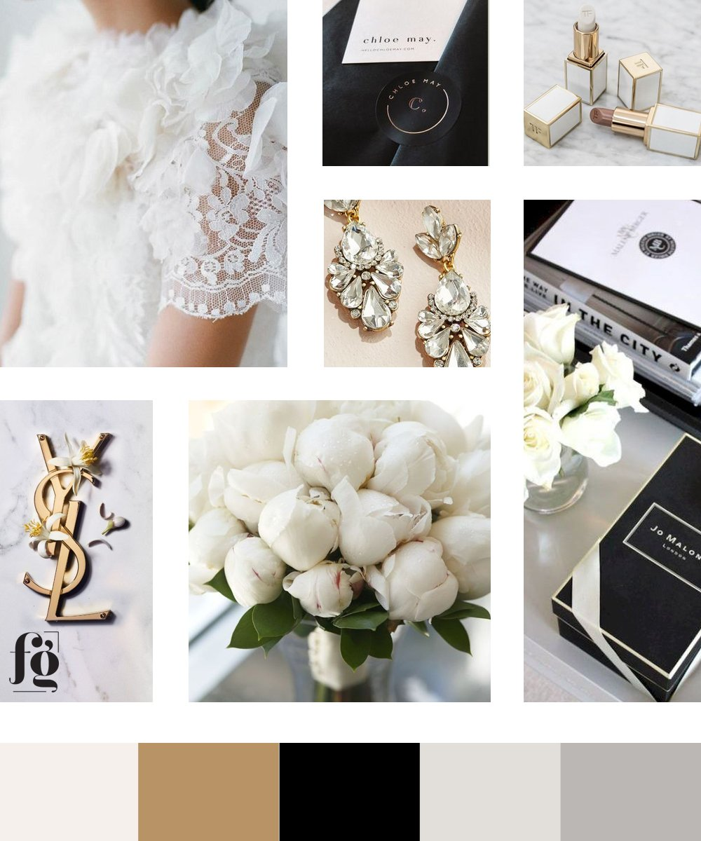 Moodboard for Rea Danielle Designs