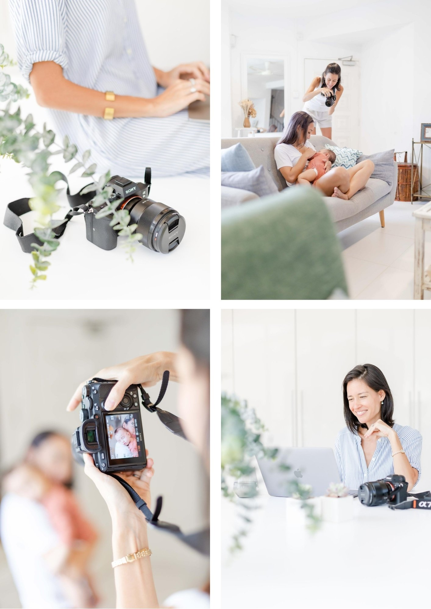 What do you offer to the world - behind the scenes brand photography showing what you do.
