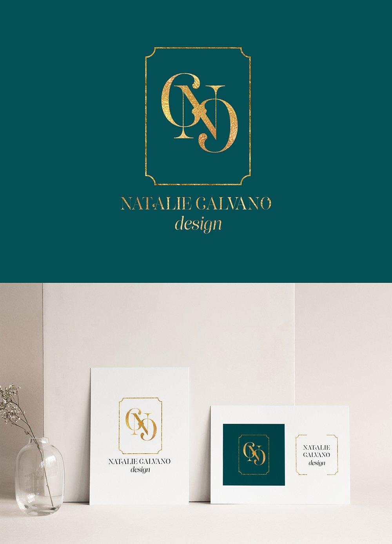logo design option 2 for Natalie Calvano