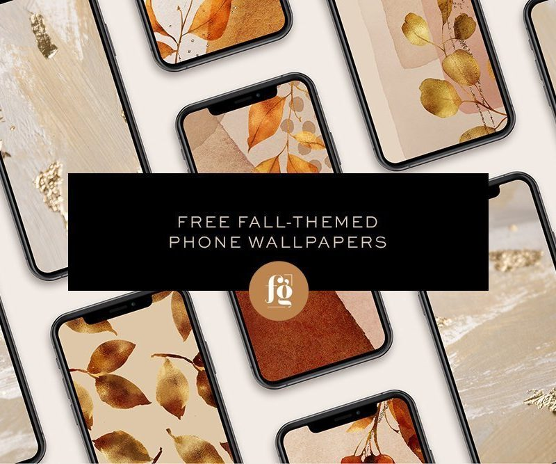 FREE Fall-themed Fall Wallpapers