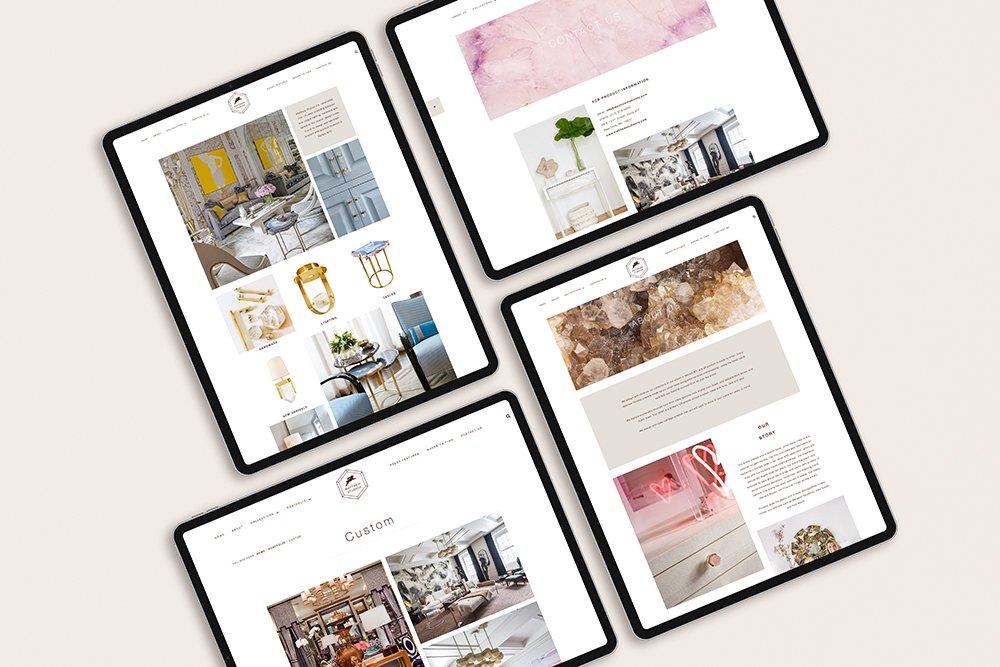 e-commerce website design for Matthew Studios