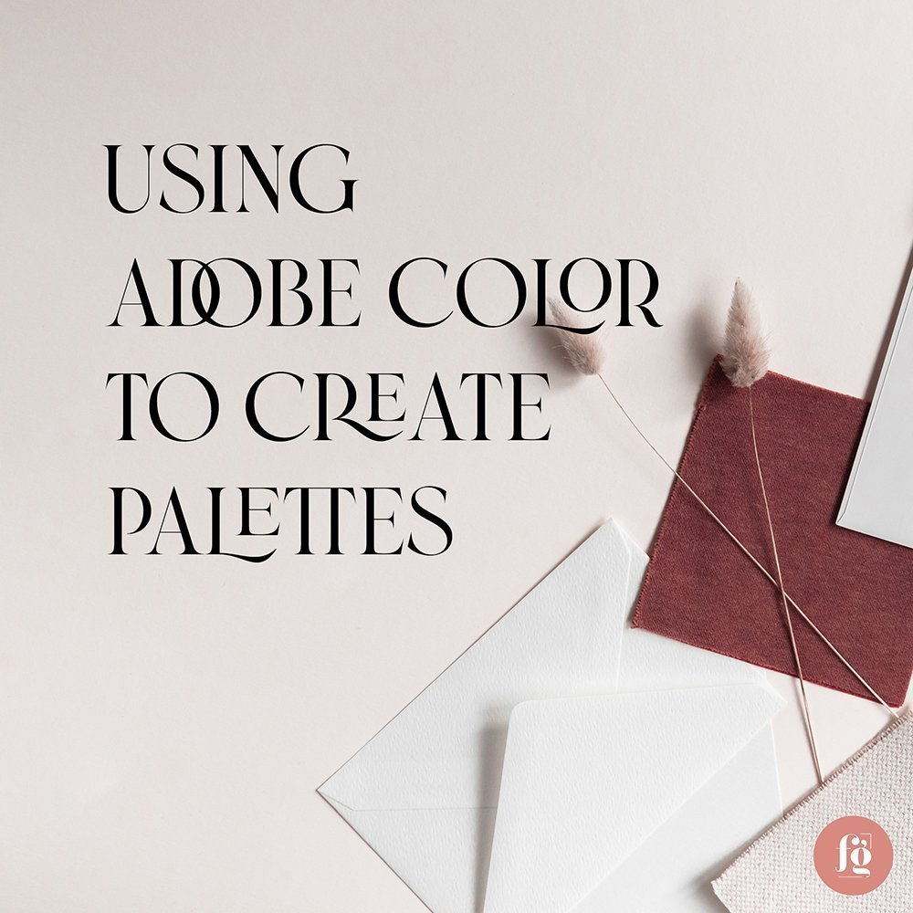 using Adobe Color to Create Color Palettes from images