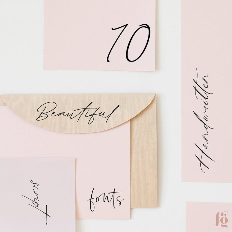 Best Handwritten Fonts 2020