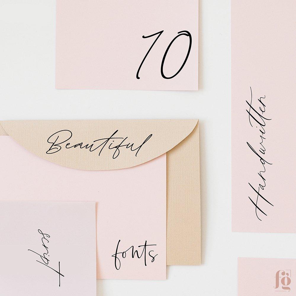 10 most beautiful handwritten fonts of 2020